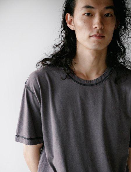 Comme des Garçons Homme Deux Garment Dyed T-Shirt - Navy