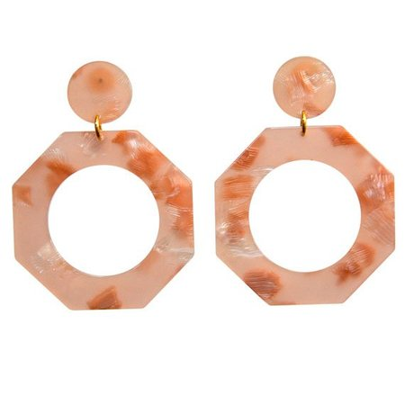 Après Ski CLEF EARRINGS - ICED PINK