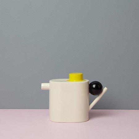 DesignK THÉIÈRE GÉOMÉTRIQUE - YELLOW