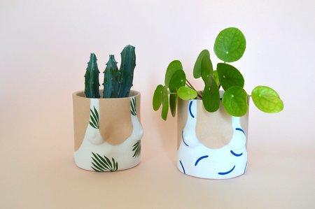 Group Partner Pot - Leaves