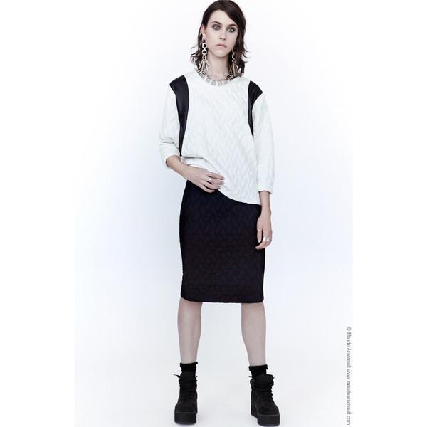 Eve Gravel Royal Skirt