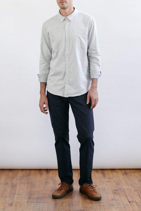 Bridge & Burn Winslow Shirt - Light Grey Flannel