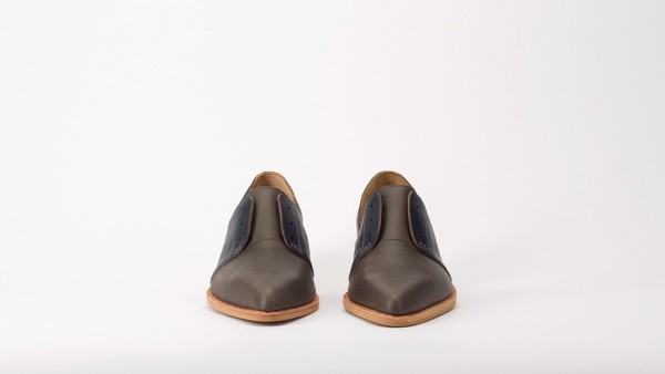 Fortress of Inca Dark Poiret Shoes