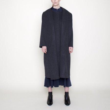 7115 by Szeki Watson Wool Coat - Charcoal