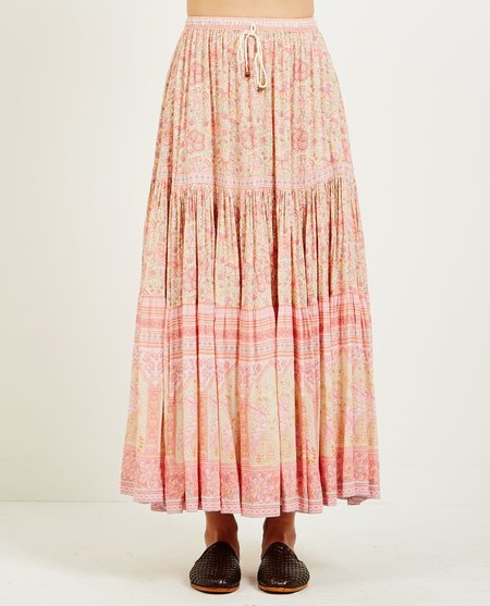 SPELL & THE GYPSY POINCIANA MAXI SKIRT - COTTON CANDY