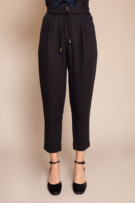 Apiece Apart Vega Easy Pant - Black