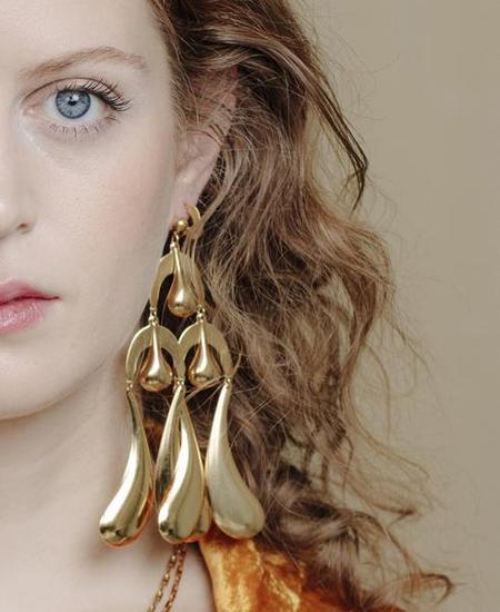 Par Ici by Alynne Lavigne Big Drop Earrings