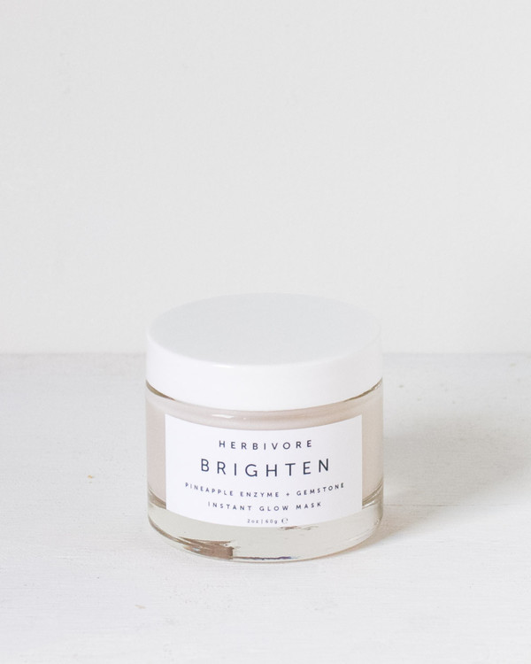Herbivore Botanicals : Brighten Pineapple + Gemstone Mask