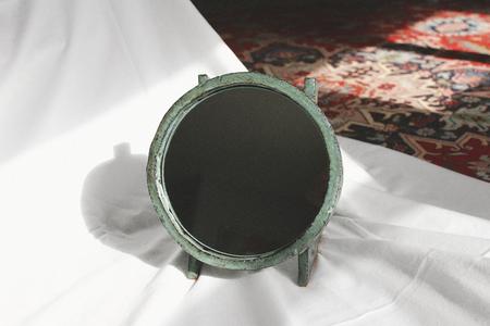 Morgan Peck Ramp Mirror - Dark Water Green