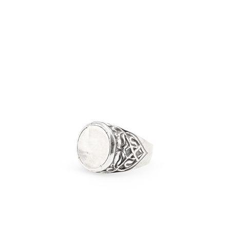 Goti Circle Ring - Silver