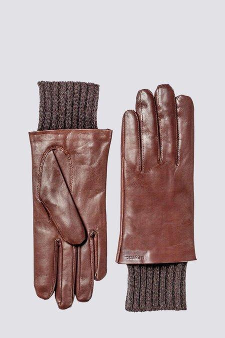 Hestra Leather Megan Glove - chestnut