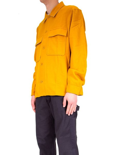 Norse Projects Kyle Wool Jacket - Mustard Yellow