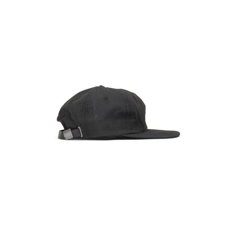 MAPLE WEATHERCLOTH BALL CAP - BLACK