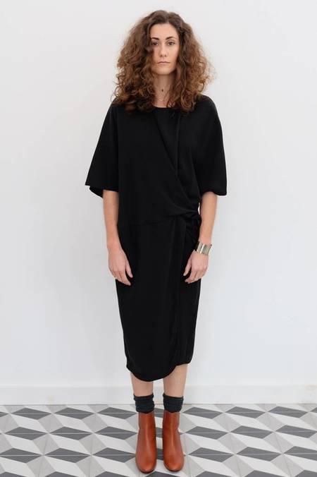 Priory Tether Tied Tencel Dress