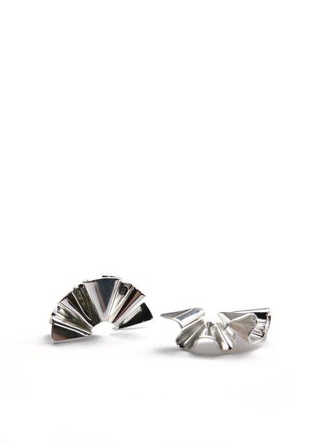 Tiro Tiro Micro Faldi Earring - Silver
