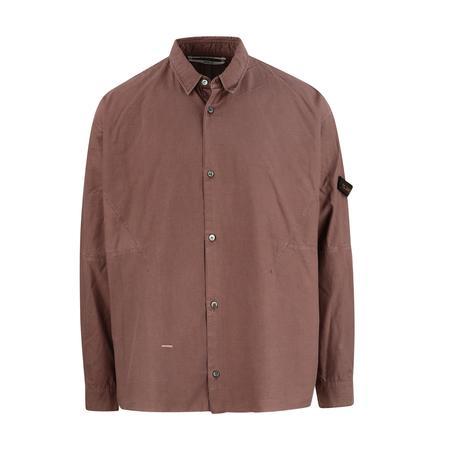 Robert Geller New Karol Shirt - Rust