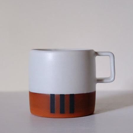 Wolf Ceramics Stripe Mug