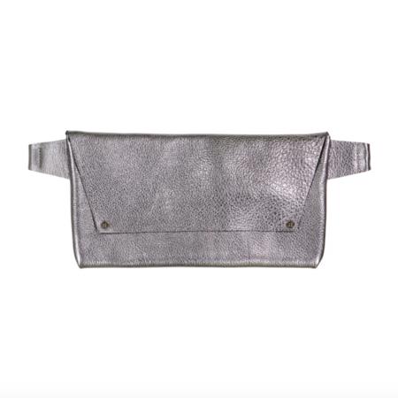 Stitch and Tickle Strasbourg Hip Bag - Gunmetal