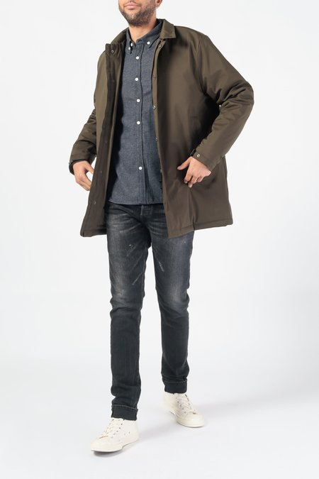 Native North 2.0 Storm Trench Coat - GREEN