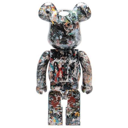 Medicom Toy BE@RBRICK Jackson Pollock Studio Ver2.0 1000% - Multi