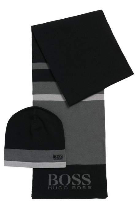 Hugo Boss Giftset Scarves - Black