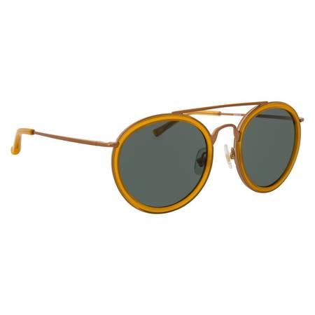 Dries Van Noten Sunglasses - Rust/Green