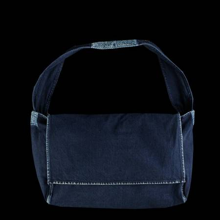 Kapital Denim Messenger Bag - Indigo