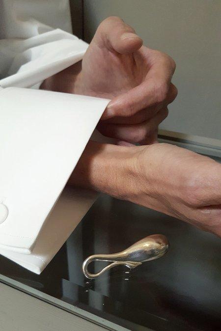 Mm Druck Colli Brooch - Silver