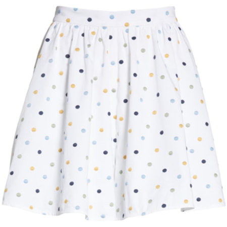 Prose & Poetry Trisha D High Waist Culotte - WHITE