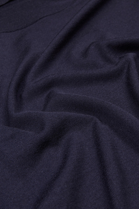 Hunting Ensemble Merino Turtle Neck - Navy