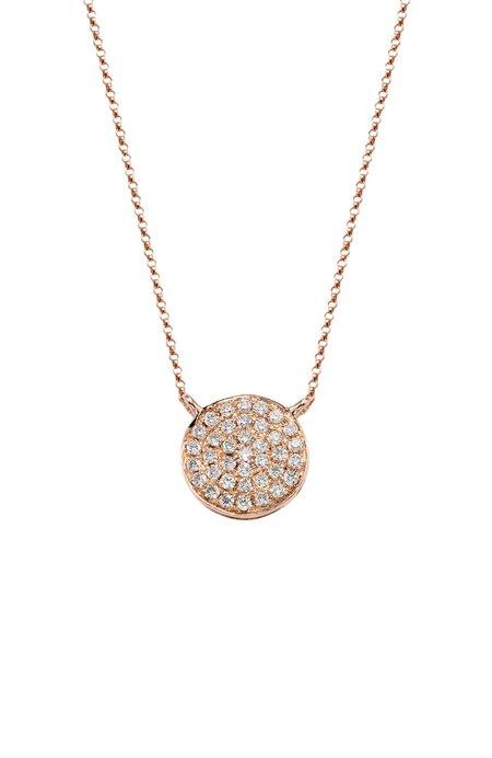 BETTINA JAVAHERI Night / Day Pave Diamond Necklace