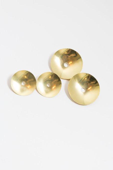 Hey Murphy Loma Earrings - Brass