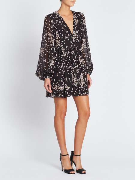 Camilla and Marc Gardin Coat Dress - Camelia Spot Print