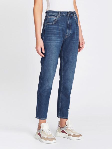 MiH Jeans Mimi High Rise Vintage Straight Leg Jeans - Deenie