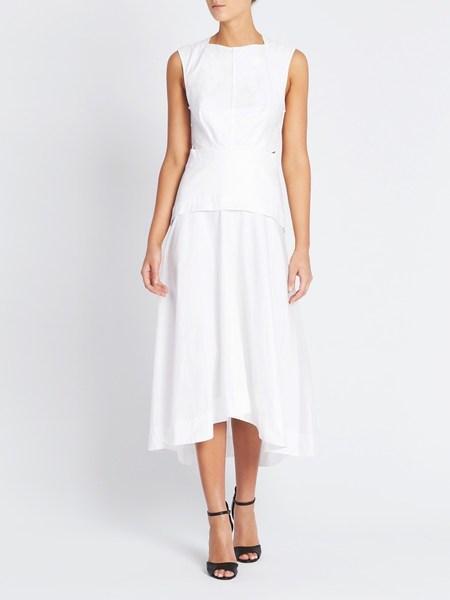 Camilla and Marc Steinem Midi Dress - White