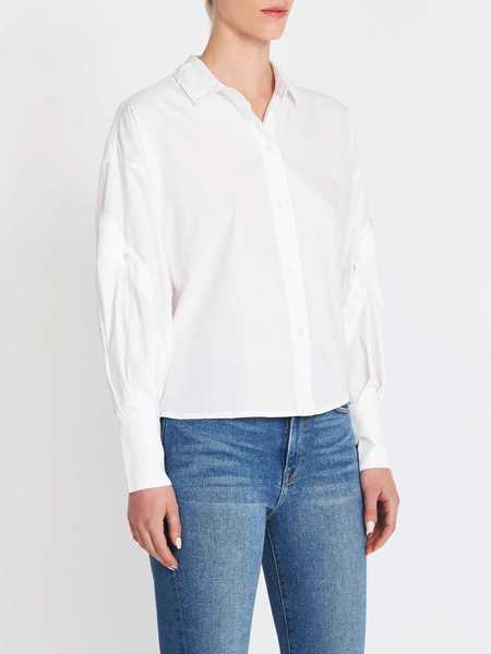 Joie Dangela Long Sleeve Top - White