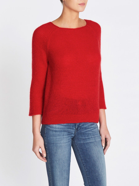 MiH Jeans Bowen Sweater - Cherry Re