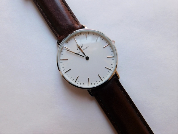 Daniel Wellington St. Mawes Silver 36mm Watch
