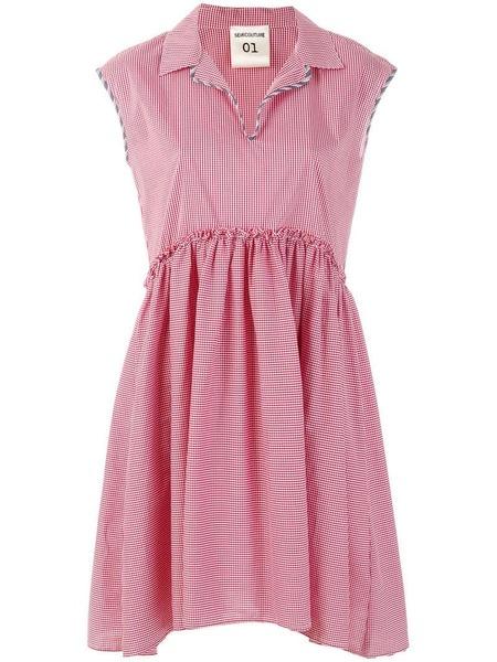 Semicouture Plain weave dress