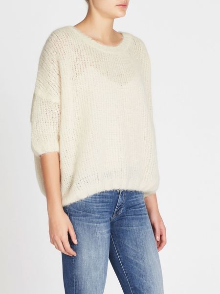 american vintage Siribay Sweater - Mother of Pearl