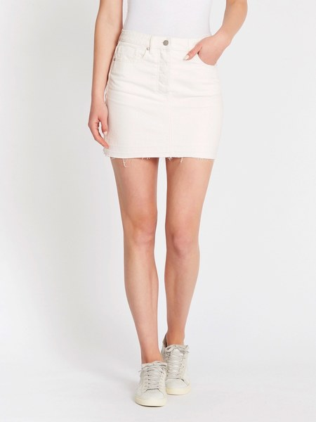 Camilla and Marc Alaine Tube Mini Skirt - Washed White