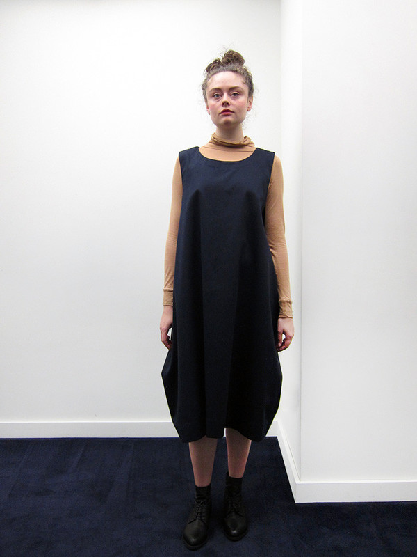 Rowena Sartin Box Vest Dress | Loop Tie