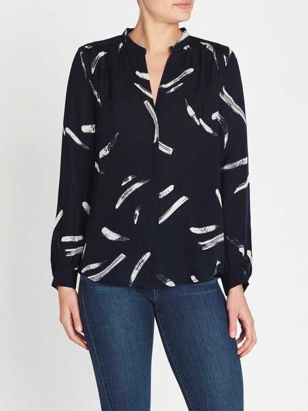 Joie Mintee Top - Midnight Blue/Stripes