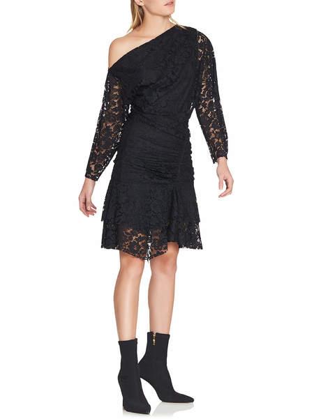 Camilla and Marc Clemence Off Shoulder Dress - BLACK