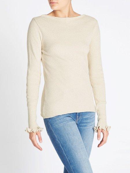 MiH Jeans Joel Sweater - Cream/Gold
