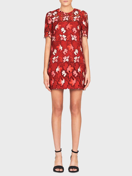 Camilla and Marc Aerie Mini Dress - Raspberry