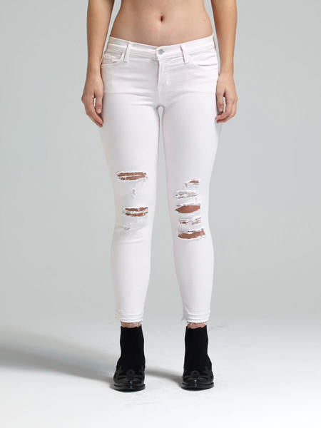 J Brand Demented Crop Jean - Orchid Ice