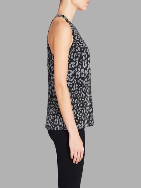 Joie Brighton Tank - Dark Leopard Print