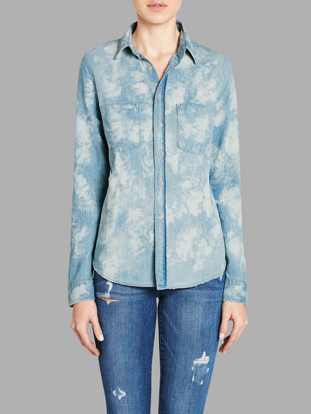 Mother Denim Double Foxy Shirt - Tie Dye