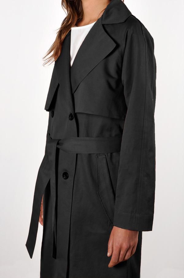 Waltz Oversized Cotton / Linen Trench Coat